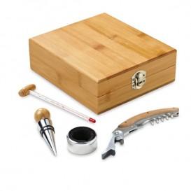 Kit Vinho Bambú 5 peças